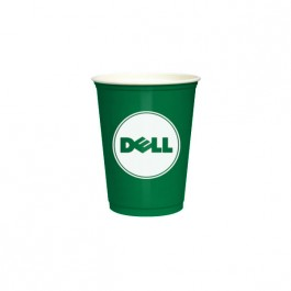 Green 10 oz Soft Plastic Cup