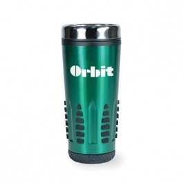 Green 16 oz Satellite Stainless Tumbler