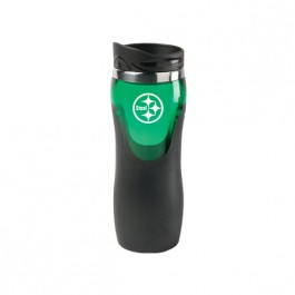 Green 14 oz Lucent Co-Molded Tumbler