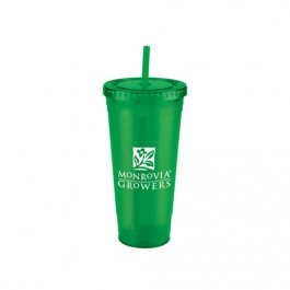 Green 24 oz. Jumbo Everyday Plastic Cup Tumbler