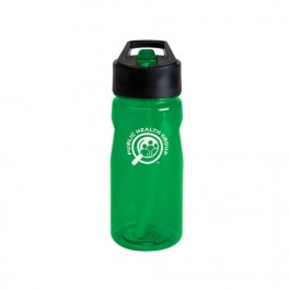 Green 19 oz. Notched Tritan® Water Bottle