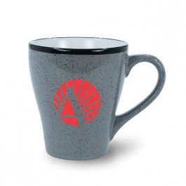 Grey 16 oz Ballston Ceramic Coffee Mug