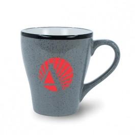 Grey 16 oz Ballston Ceramic Coffee Mug