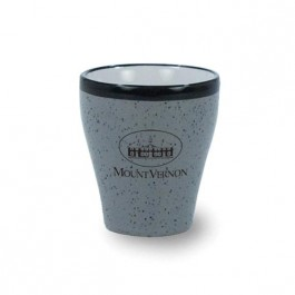 Grey 1 1/2 oz Ballson Ceramic Shot Glass