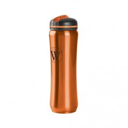 Orange 28 oz. Slim Stainless Water Bottle