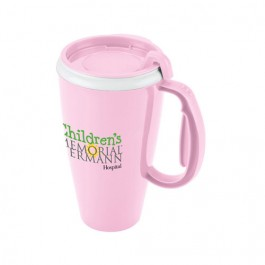 Pink 16 oz. Evolve Journey Travel Mug