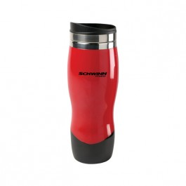 Red / Black 14 oz Sphere Co-Molded Tumbler