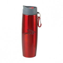 Red / Gray 16 oz Engraved Duo Insulated Tumbler/Water Bottle