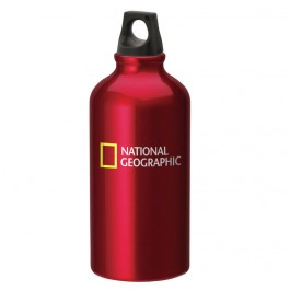 Red 500ml Aluminum Twist Top Sports Bottle