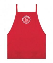 Red Kitchen Apron