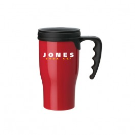 Red 16 oz. Comfort Grip PP Mug
