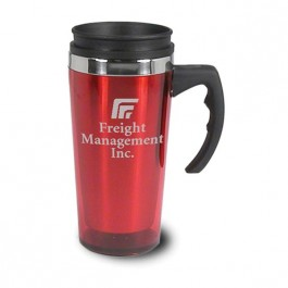 Red 16 oz Macon Red Coffee Mug