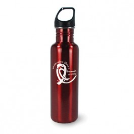Red 25.4 oz Versatile Aluminum Tumbler Water Bottle