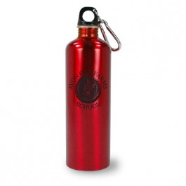 Red 25 oz Montana Aluminum Traveler Water Bottle