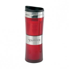 Red 13 oz Engraved Signal Tapered Tumbler
