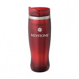 Red 14oz. Horizon Crystal Tumbler