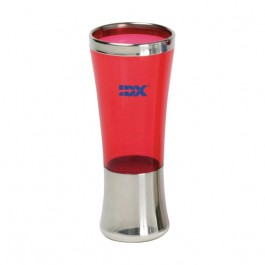 Red 2 oz Fusion Shooter Glass