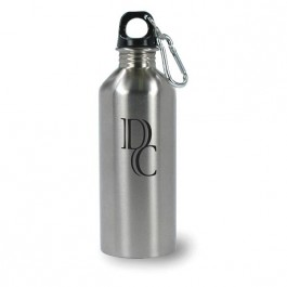 Silver 17 oz Pittsburgh Stainless Steel Traveler Water Bottle