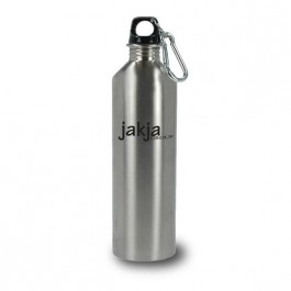 Silver 25 oz Pittsburgh Stainless  Traveler Water Bottle