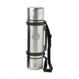 Stainless / Black 34oz. Engraved Orion 3-in-1 Thermos