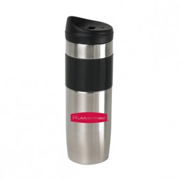 Stainless / Black 14 oz Verve Tumbler