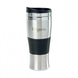 Stainless / Black 15 oz Engraved Stance Stainless Steel Tumbler