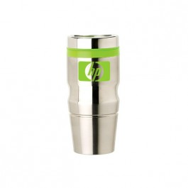 Stainless / Green 14 oz Stainless Steel Easy Sip Tumbler