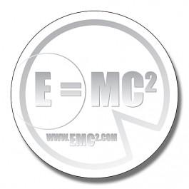 White 2.75 Inch Diameter Circle Magnet