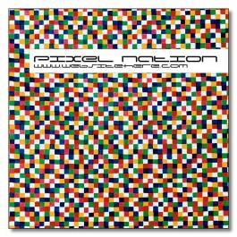 White 3.25 x 3.25 Square Corner Magnet