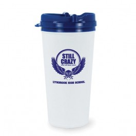 White / Blue USA Made Liberty Tumbler