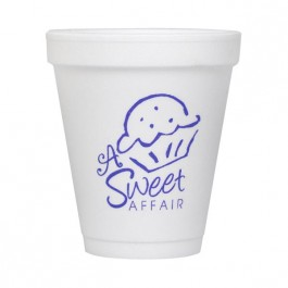 White 6 oz Foam Cup