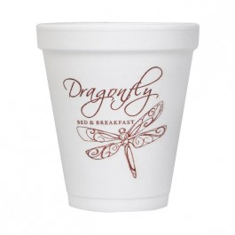 White 8 oz Foam Cup