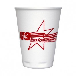 White 12 oz Trophy Cup