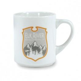 White 10 oz Porcelain Ceramic Coffee Mug