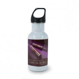 White 16.9 oz Versatile Jr. Aluminum White Sublimation  Tumbler Water Bottle