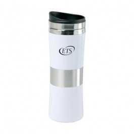 White 13 oz Signal Tapered Tumbler