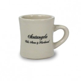 Almond 10 oz Almond Vitrified Diner Ceramic Coffee Mug