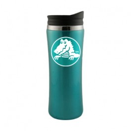 Aqua / Black 14oz Laguna Stainless Steel Travel Tumbler