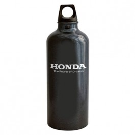 Black 22 oz Aluminum Trek Water Bottle
