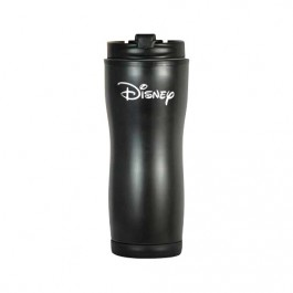 Black 16 oz Contour Stainless Steel Tumbler