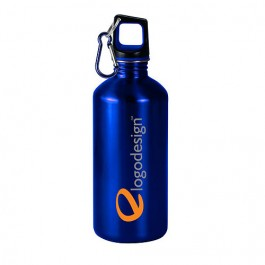 Blue / Black 20 oz Classic Stainless Steel Sports Bottle