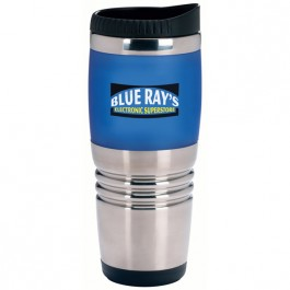 Blue 16 oz. Combo Ridge Travel Tumbler