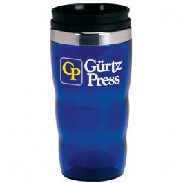 Blue 16 oz. Roller Travel Tumbler