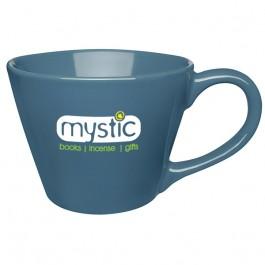 Blue 13 oz. Ceramic Earth Tone Coffee Mug