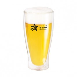 Clear 18 oz Binara Double Wall Pilsner