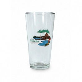 Clear 20 oz Brewery Beer Glass