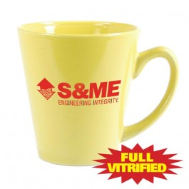 Lemon Yellow 11 oz Vitrified Restaurant Ceramic Coffee Mug