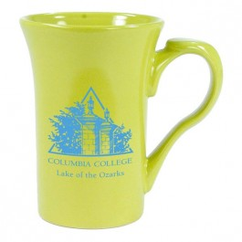 Lime Green 15 oz Thumbelina Ceramic Coffee Mug