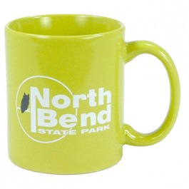 Lime Green 11 oz Hartford Ceramic Coffee Mug