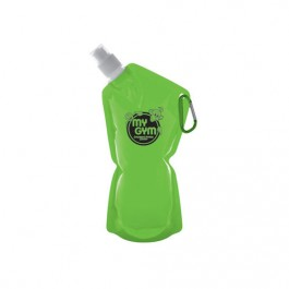 Lime Green 20 oz Sip & Store Collapsible Water Bag